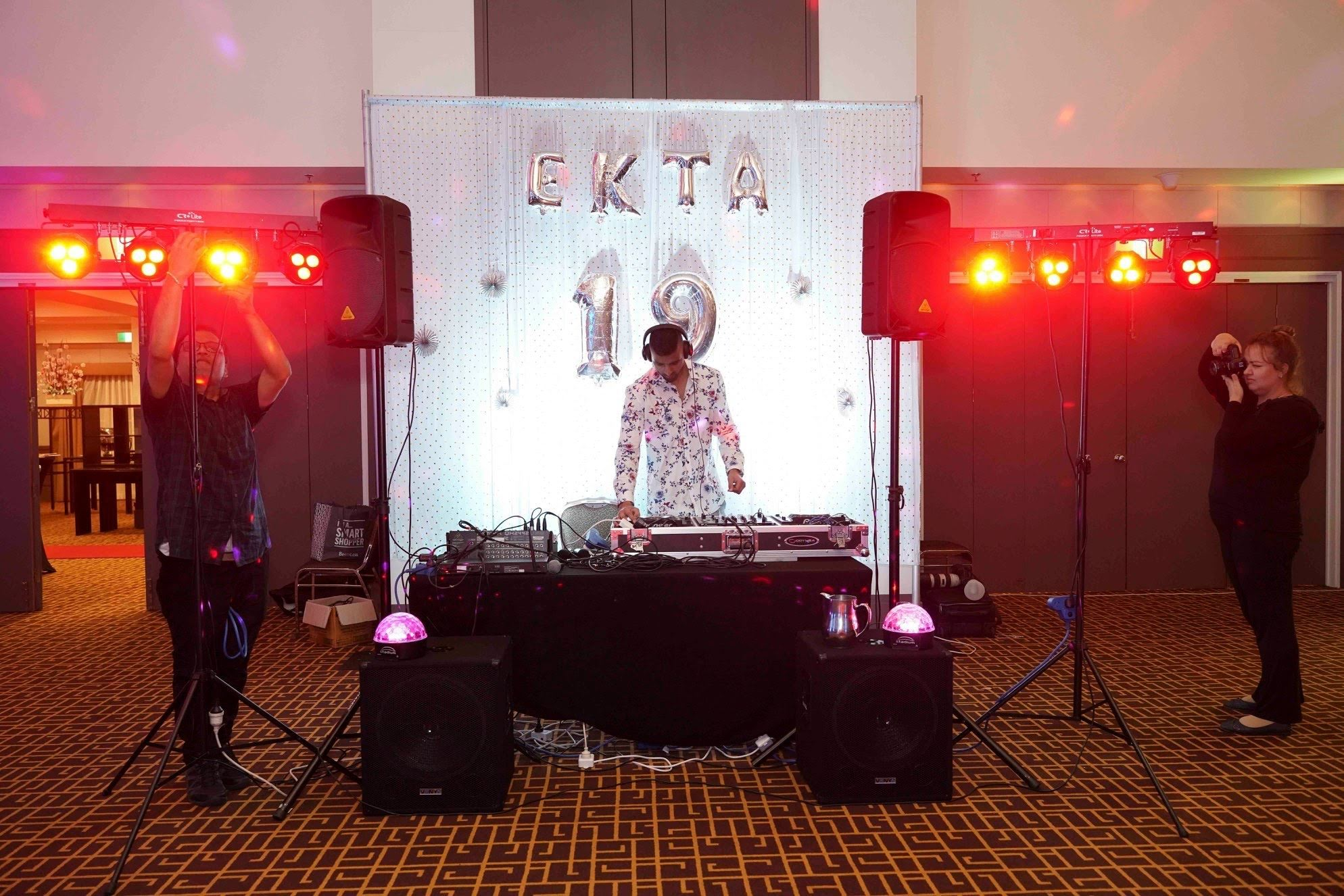 Ekta University Ball (Bollywood Style) - Canberra - Vintage Events